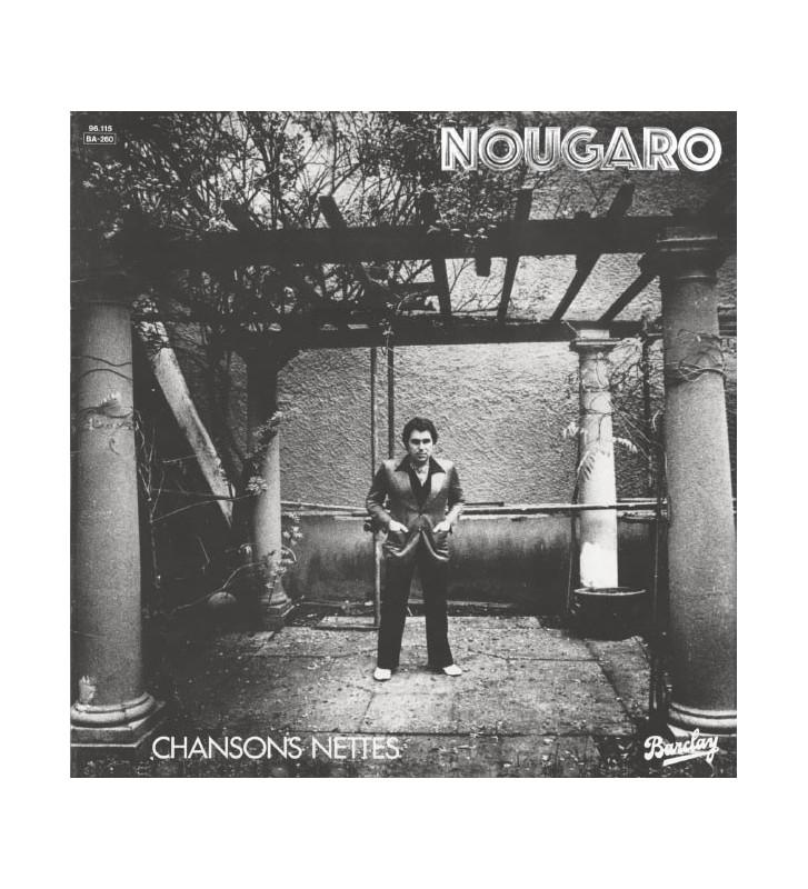 Nougaro* - Chansons Nettes (LP) mesvinyles.fr