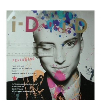 Various - Dance i-D No. 2 - Groovamarionation (LP, Comp) mesvinyles.fr