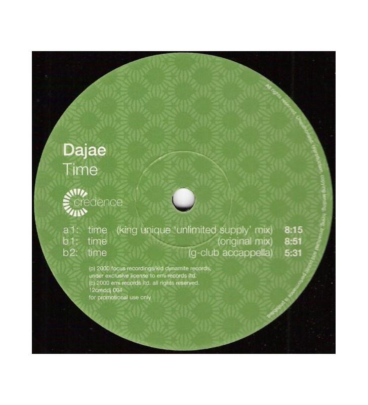 "Dajaé - Time (2x12"", Promo) mesvinyles.fr"