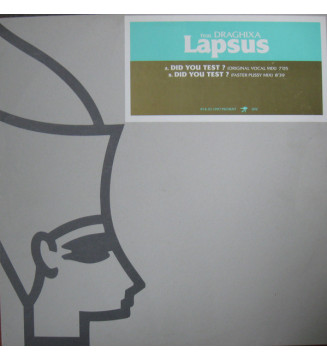 """Lapsus Feat. Draghixa - Did You Test? (12"""") mesvinyles.fr"""