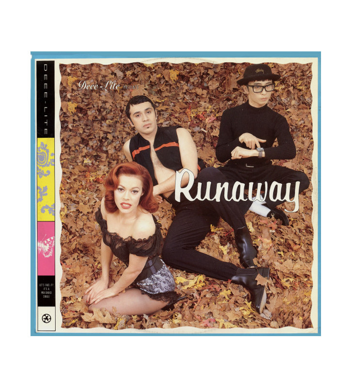 "Deee-Lite - Runaway / Rubber Lover (12"") mesvinyles.fr"