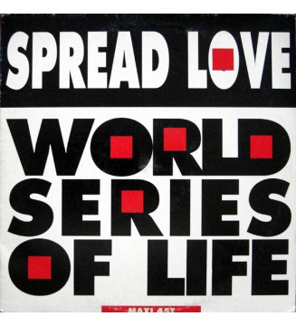 "World Series Of Life - Spread Love (12"", Maxi) mesvinyles.fr"
