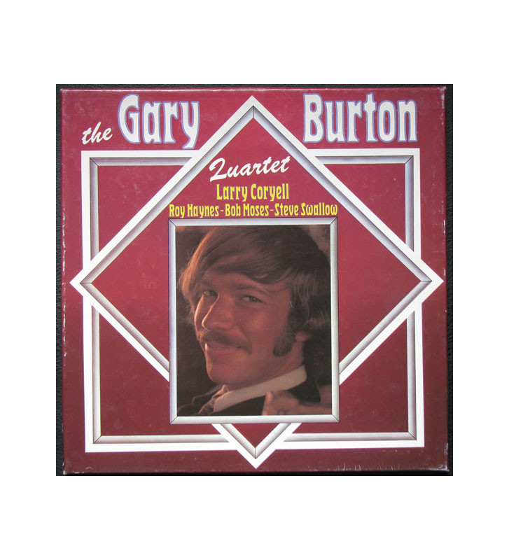 The Gary Burton Quartet* - The Gary Burton Quartet - Larry Coryell - Roy Haynes - Bob Moses - Steve Swallow (3xLP, Album + Box,