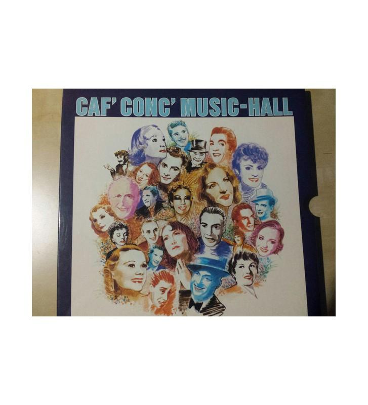 Various - Caf' Conc' Music-Hall (3xLP, Comp, RE) mesvinyles.fr