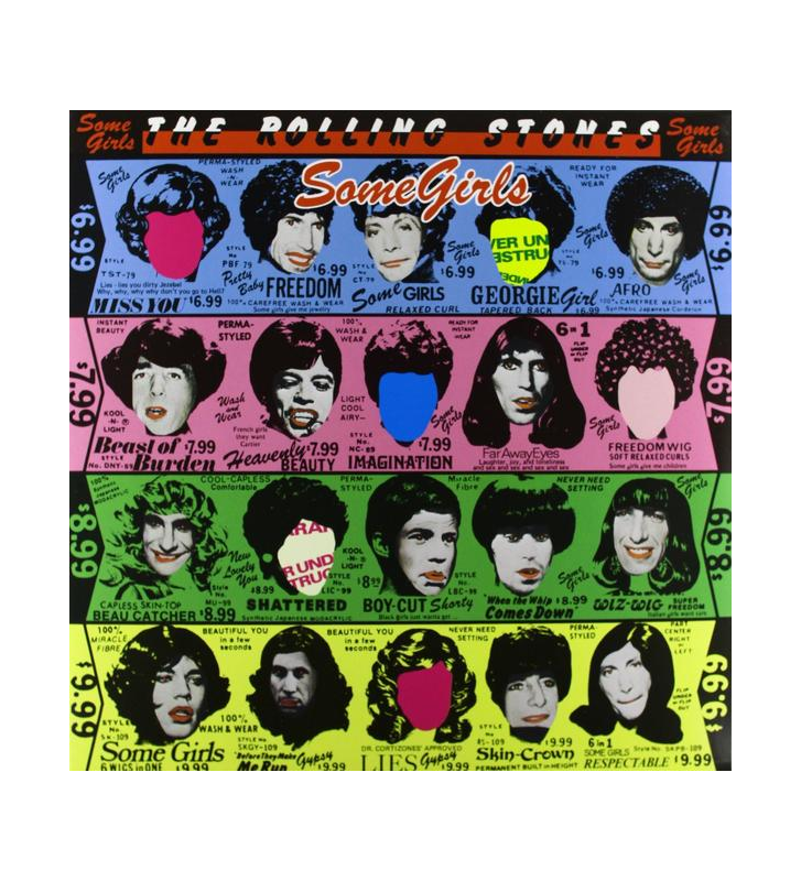ROLLING STONES - Some Girls mesvinyles.fr