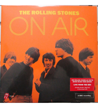 The Rolling Stones - The Rolling Stones On Air (2xLP) mesvinyles.fr