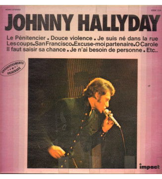 Johnny Hallyday - Johnny Hallyday (LP, Comp) mesvinyles.fr