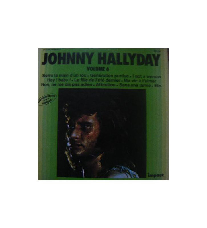 Johnny Hallyday - Volume 6 (LP, Comp) mesvinyles.fr