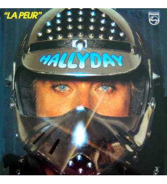 Johnny Hallyday - La Peur (LP, Album)