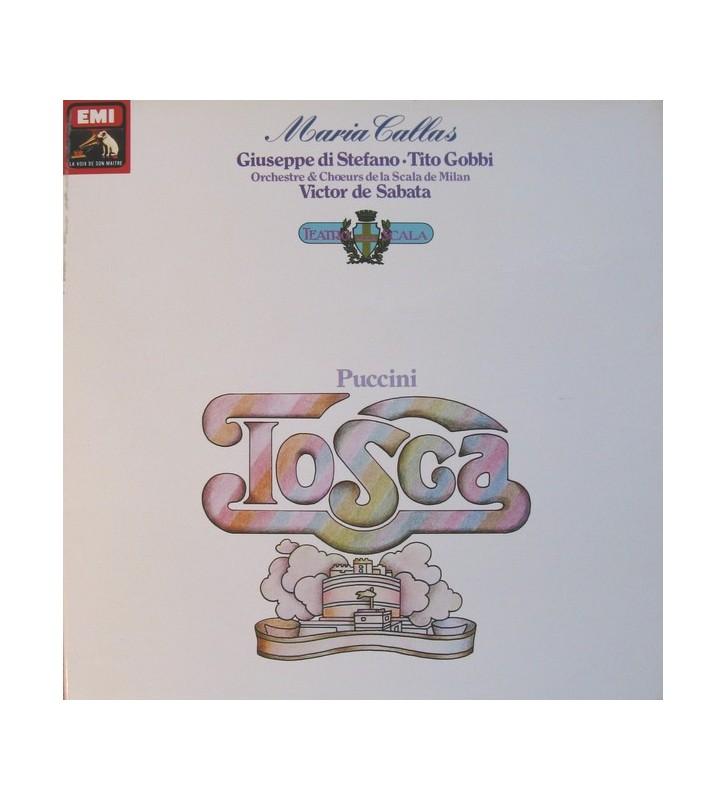 Puccini*, Maria Callas, Giuseppe Di Stefano, Tito Gobbi, Orchestre & Chœurs De La Scala De Milan* , Dir. Victor De Sabata - Tos