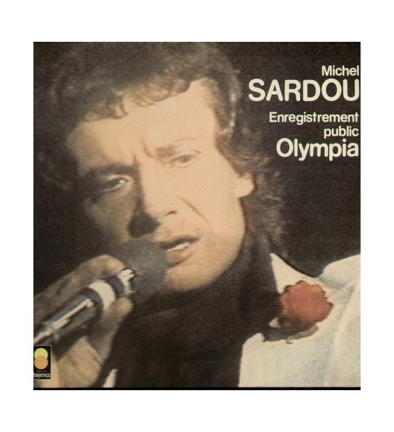 Michel Sardou - Enregistrement Public Olympia (LP, Album)