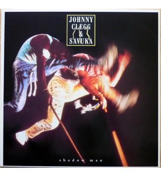 Johnny Clegg & Savuka - Shadow Man (LP, Album) mesvinyles.fr