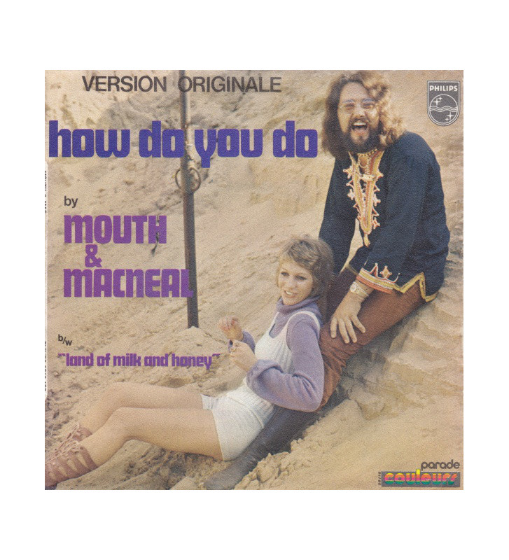 "Mouth & MacNeal - How Do You Do (7"", Single, Mono) mesvinyles.fr"