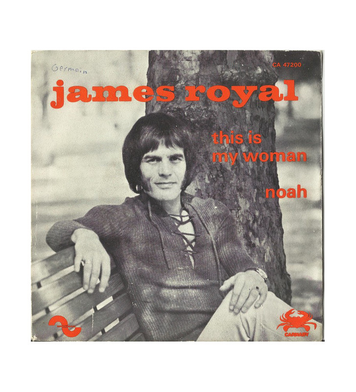 "James Royal - This Is My Woman (7"") mesvinyles.fr"