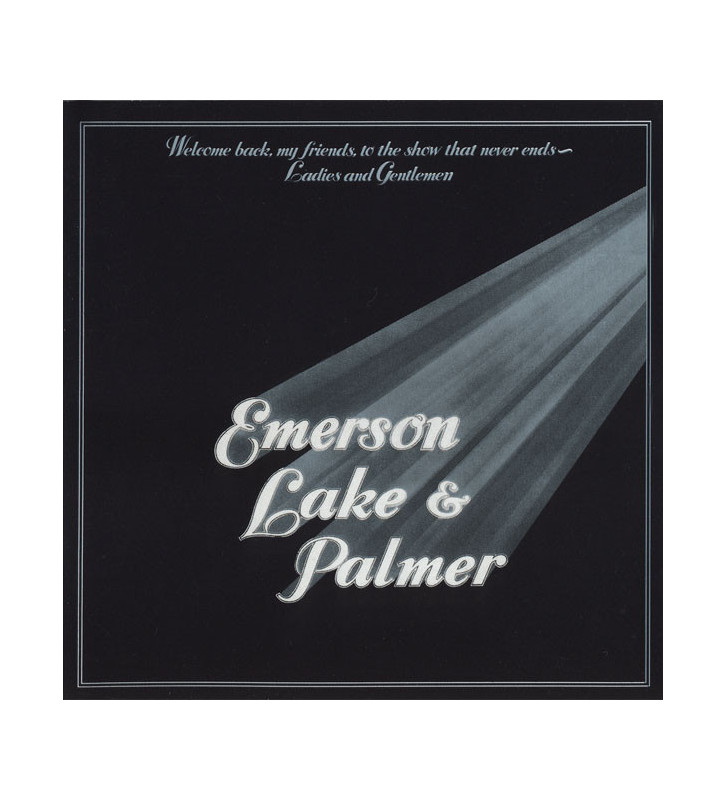 Emerson, Lake & Palmer - Welcome Back My Friends To The Show That Never Ends - Ladies And Gentlemen (3xLP, Album, Gat) mesvinyle