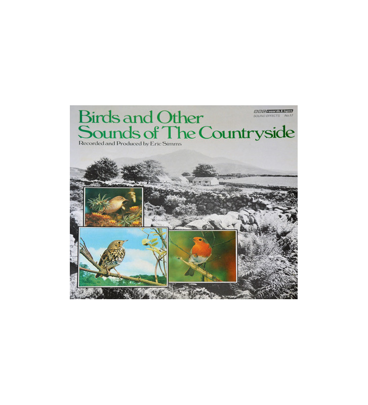 No Artist - Sound Effects No. 17 - Birds And Other Sounds Of The Countryside (LP, Mono) mesvinyles.fr