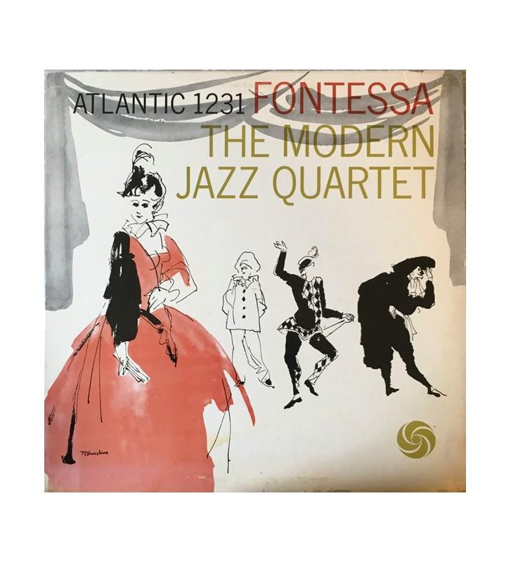 The Modern Jazz Quartet - Fontessa (LP, Album, RE) mesvinyles.fr