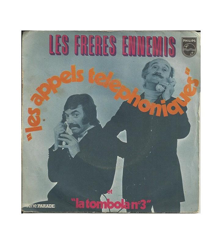 """Les Frères Ennemis - Les Appels Téléphoniques / La Tombola N°3 (7"""", Single) mesvinyles.fr"""