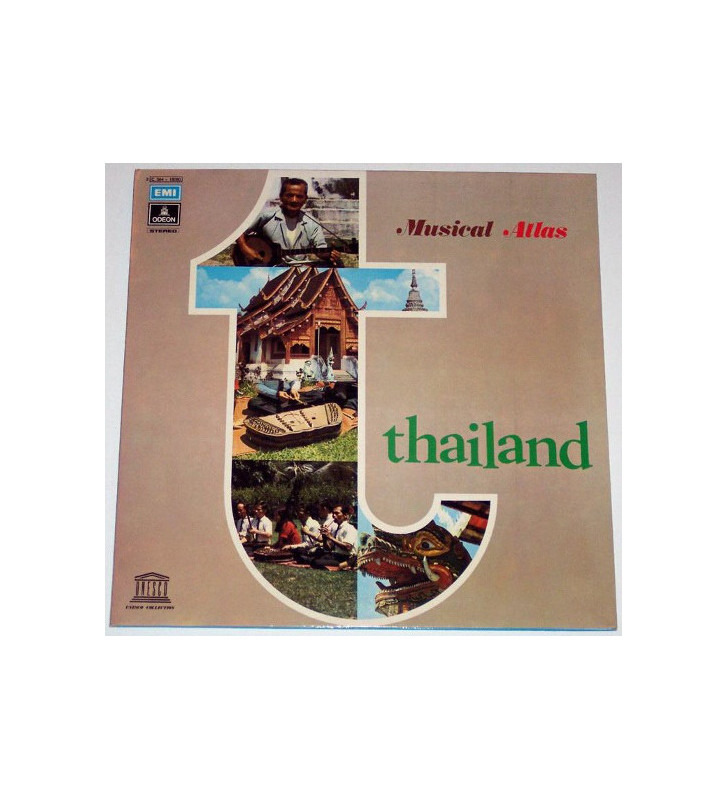 Various - Thailand - The Music Of Chieng Mai (LP, Album, Gat) mesvinyles.fr