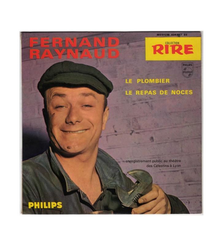 "Fernand Raynaud - Le Plombier (7"", EP, Mono) mesvinyles.fr"