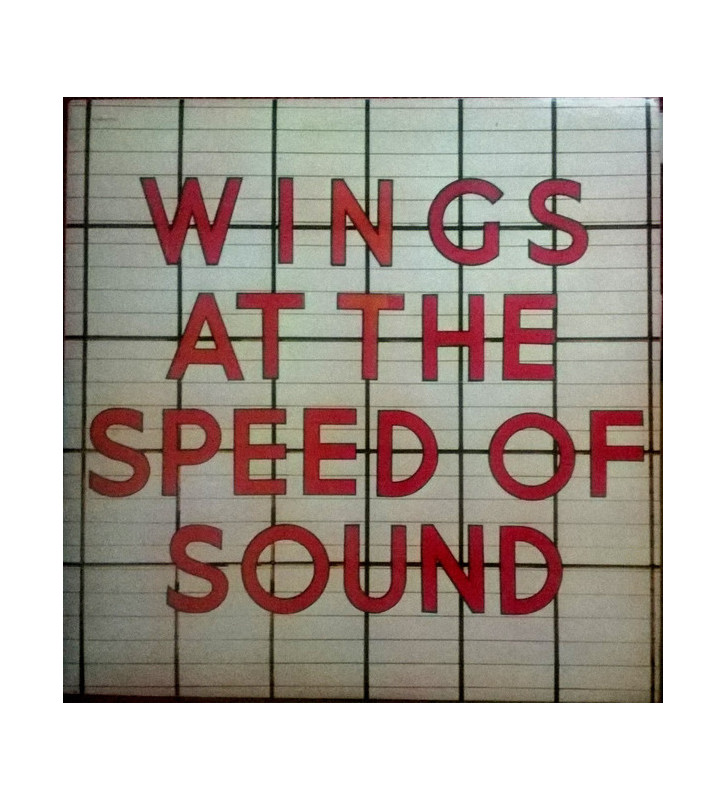 Wings (2) - Wings At The Speed Of Sound (LP, Album) mesvinyles.fr