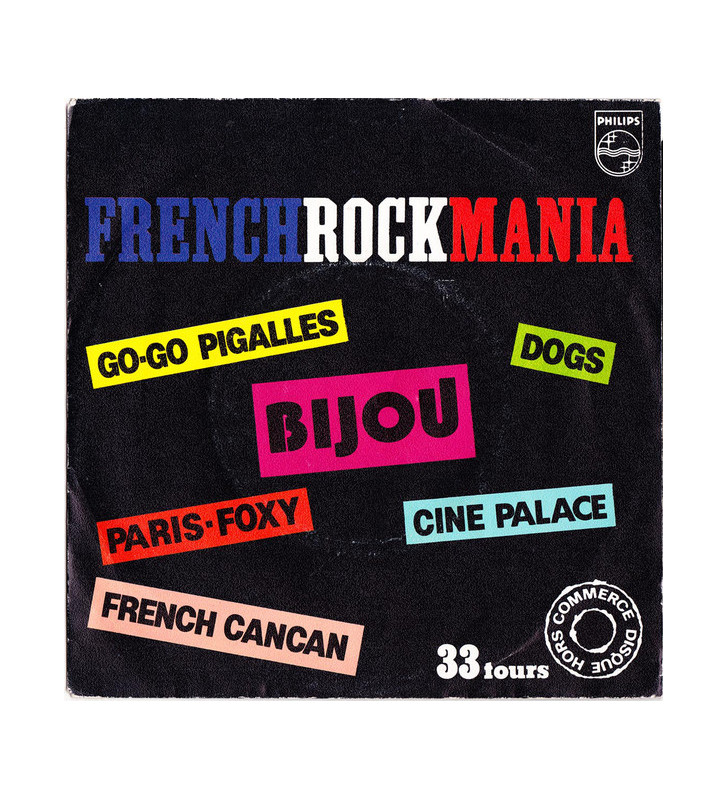 "Various - French Rock Mania (7"", Comp, Promo) mesvinyles.fr"