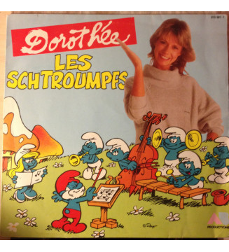 Dorothée - Les Schtroumpfs (LP) mesvinyles.fr