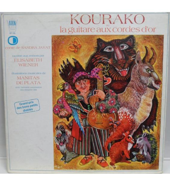 Elisabeth Wiener, Manitas De Plata - Kourako Or La Guitare Aux Cordes D'Or (LP)