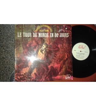 Maurice Teynac - Maurice Baquet - Jules Verne - Le Tour Du Monde En 80 Jours (LP, Album) mesvinyles.fr