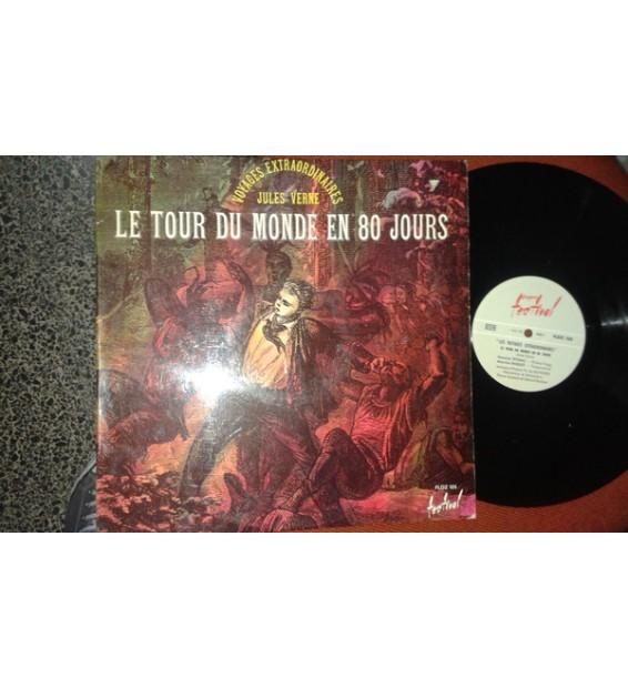 Maurice Teynac - Maurice Baquet - Jules Verne - Le Tour Du Monde En 80 Jours (LP, Album)