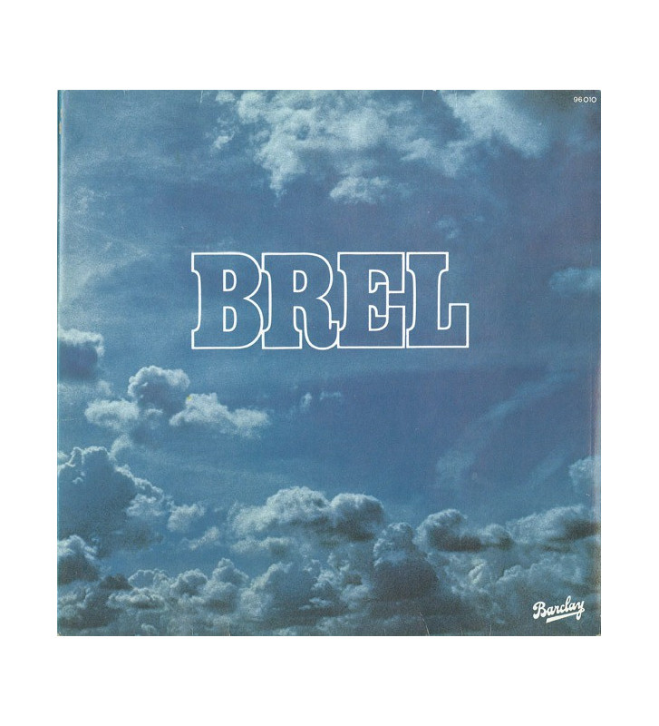 Jacques Brel - Brel (LP, Album, Gat) mesvinyles.fr