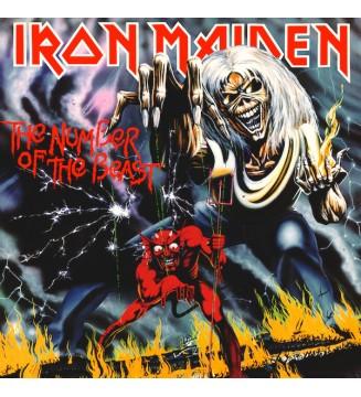 Iron Maiden - The Number Of The Beast (LP, Album, RE) mesvinyles.fr