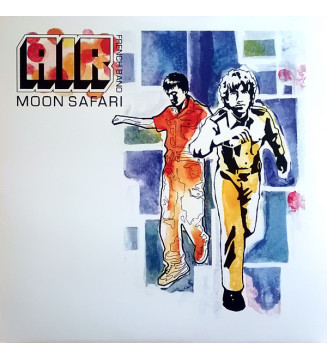 AIR French Band* - Moon Safari (LP, Album)