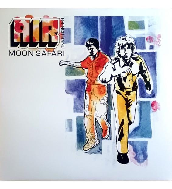 AIR French Band* - Moon Safari (LP, Album)