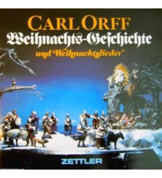 Carl Orff - Weihnachts-Geschichte Und Weihnachtslieder (LP, RE, Gat) mesvinyles.fr