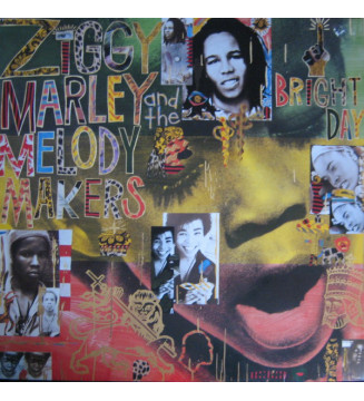 Ziggy Marley And The Melody Makers - One Bright Day (LP, Album) mesvinyles.fr