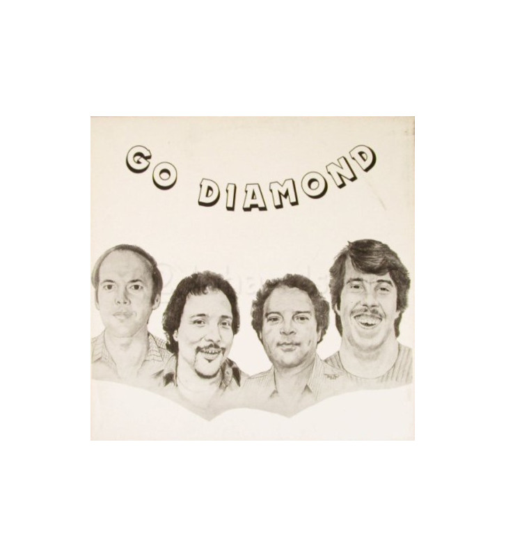 The Ken Pitman Band - Go Diamond (LP, Album) mesvinyles.fr