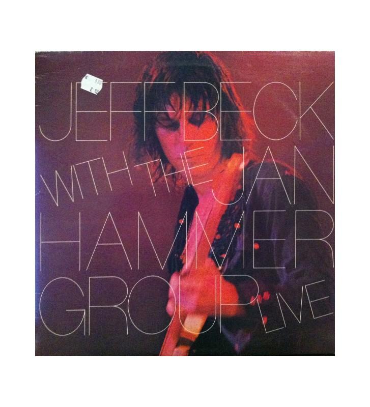 Jeff Beck With The Jan Hammer Group - Live (LP, Album) mesvinyles.fr
