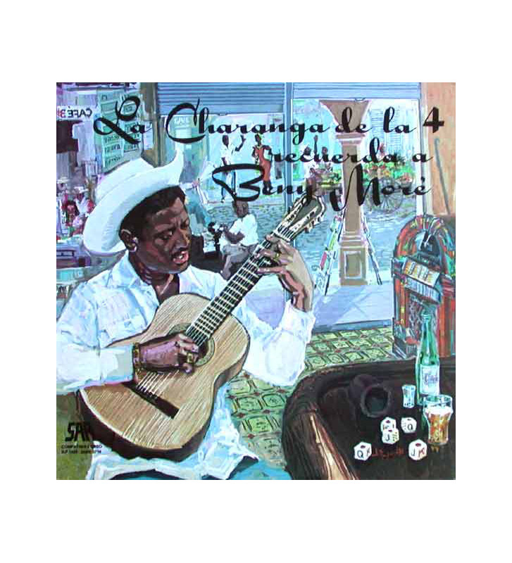La Charanga De La 4* - La Charanga De La 4 Recuerda A Beny Moré (LP) mesvinyles.fr