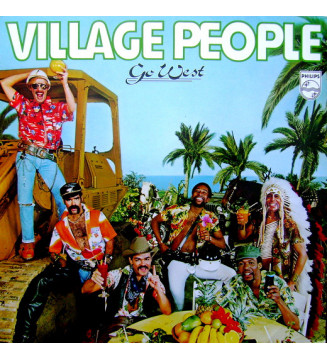 Village People - Go West (LP, Album) mesvinyles.fr