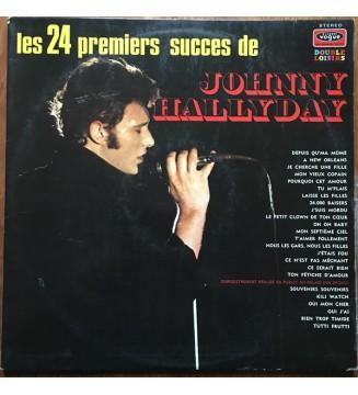 Johnny Hallyday - Les 24 Premiers Succes De Johnny Hallyday (2xLP, Comp) mesvinyles.fr