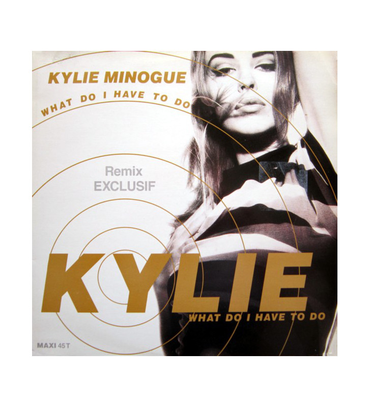 "Kylie Minogue - What Do I Have To Do (Remix) (12"", Maxi) mesvinyles.fr"