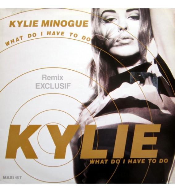 "Kylie Minogue - What Do I Have To Do (Remix) (12"", Maxi) mesvinyles.fr"