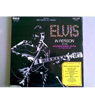 Elvis Presley - Elvis In Person At The International Hotel (2xLP, Album, Comp, RE)