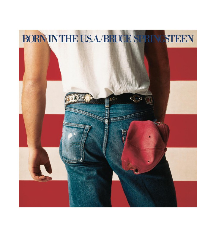 Bruce Springsteen - Born In The U.S.A. (LP, Album, RE, RM) mesvinyles.fr
