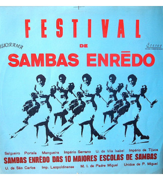 Various -  Festival De Sambas Enrēdo  (LP, Comp) mesvinyles.fr