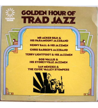 Various - Golden Hour Of Trad Jazz (LP, Comp) mesvinyles.fr