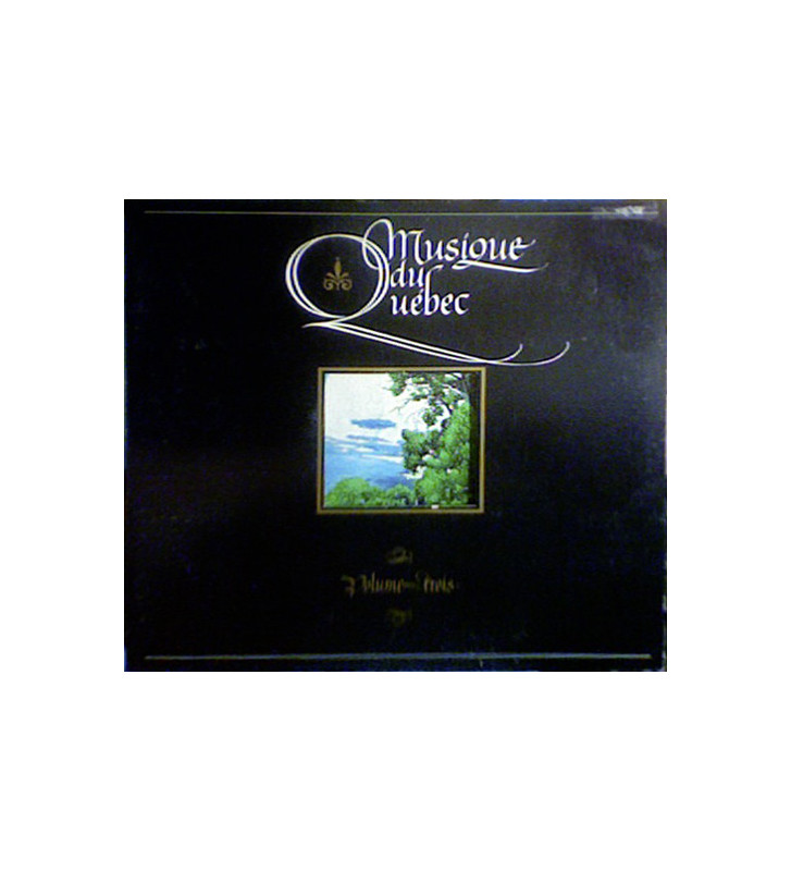 Various - Musique Du Québec - Volume Trois (LP, Album, Gat) mesvinyles.fr