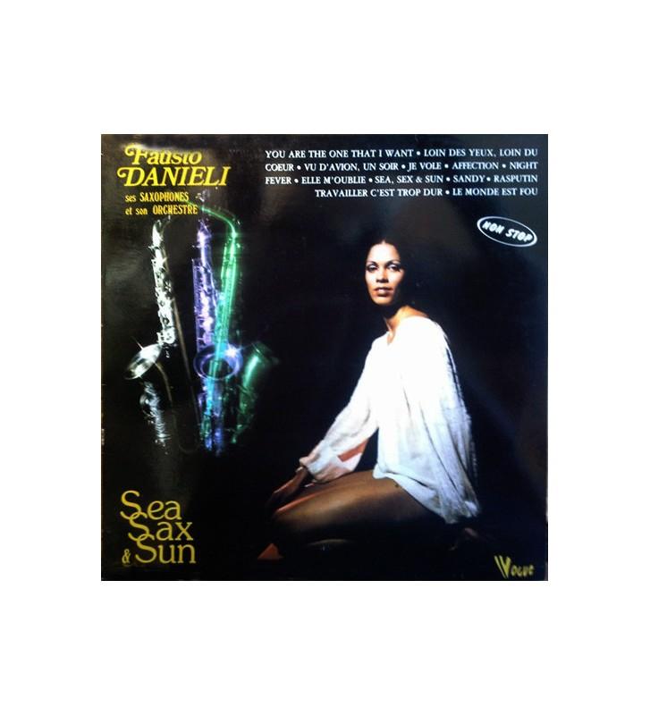 Fausto Danieli, Ses Saxophones Et Son Orchestre - Sea, Sax & Sun (LP) mesvinyles.fr