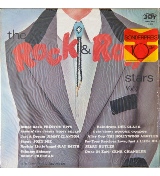 Various - The Rock And Roll Stars Vol. 3 (LP, Comp) mesvinyles.fr